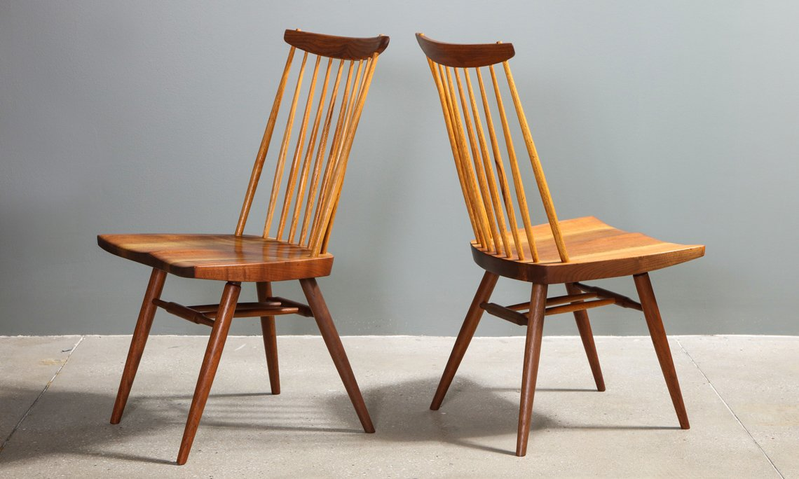 Fantastic A Familys Nakashima Collection Surfaces Guy Regal To Dailytribune Chair Design For Home Dailytribuneorg
