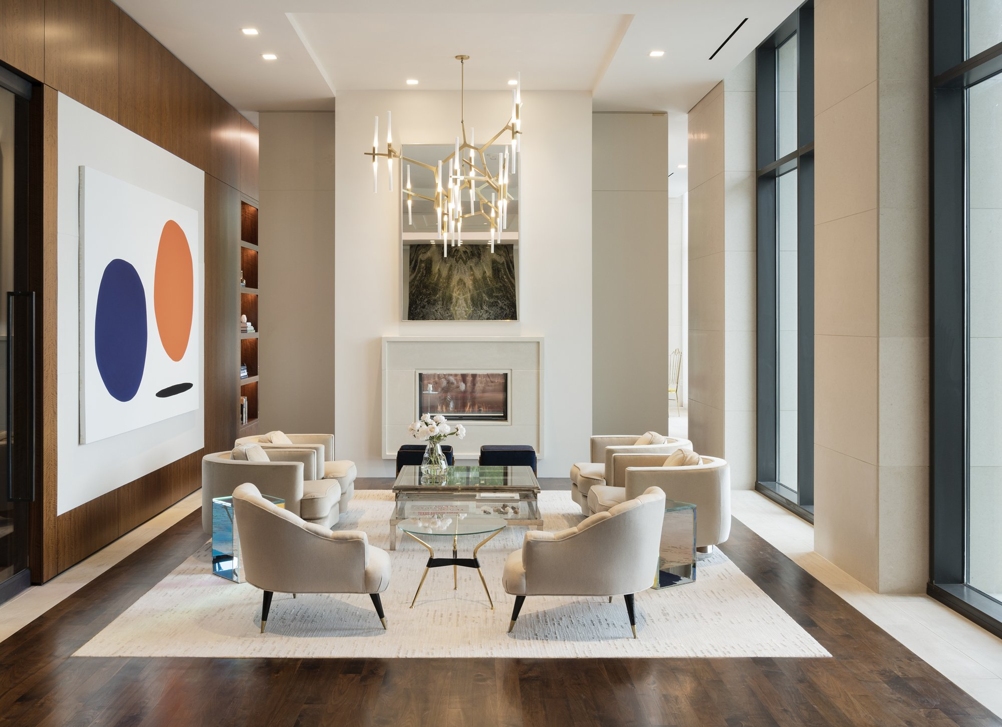 Superb Rottetu0027s Latest Project Includes Interiors For River Oaks, A 19 Story  High Rise Residence Located In Houston And Originally Built In The 1960s.