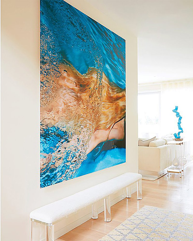 Contemporary Art Lovers Seaside Paradise By Amy Lau Design