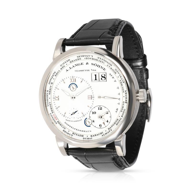 A Lange S hne A Lange Sohne Lange 1 Timezone 116 039 Mens Watch in 18KT White Gold