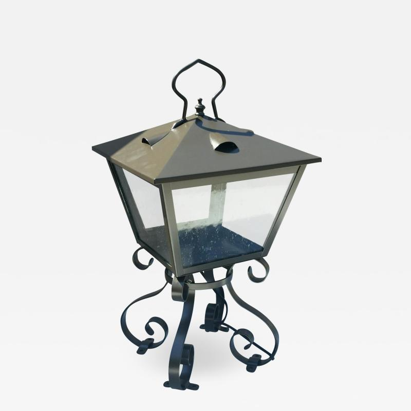 ADG Lighting 714 5 Ocean Way Lantern Wrought Iron Open Frame ADG Lighting