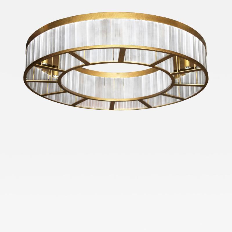 ADG Lighting 7183 Rectangular Ceiling Mount Ring Flush Fixture ADG Lighting