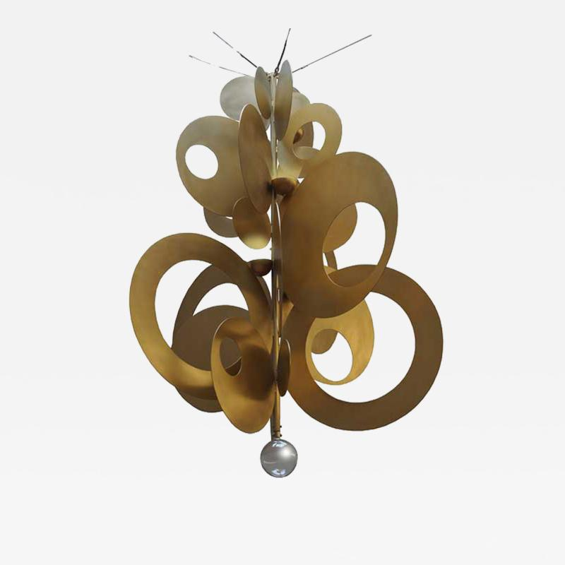 ADG Lighting 77677 Contemporary Coin Chandelier ADG Lighting