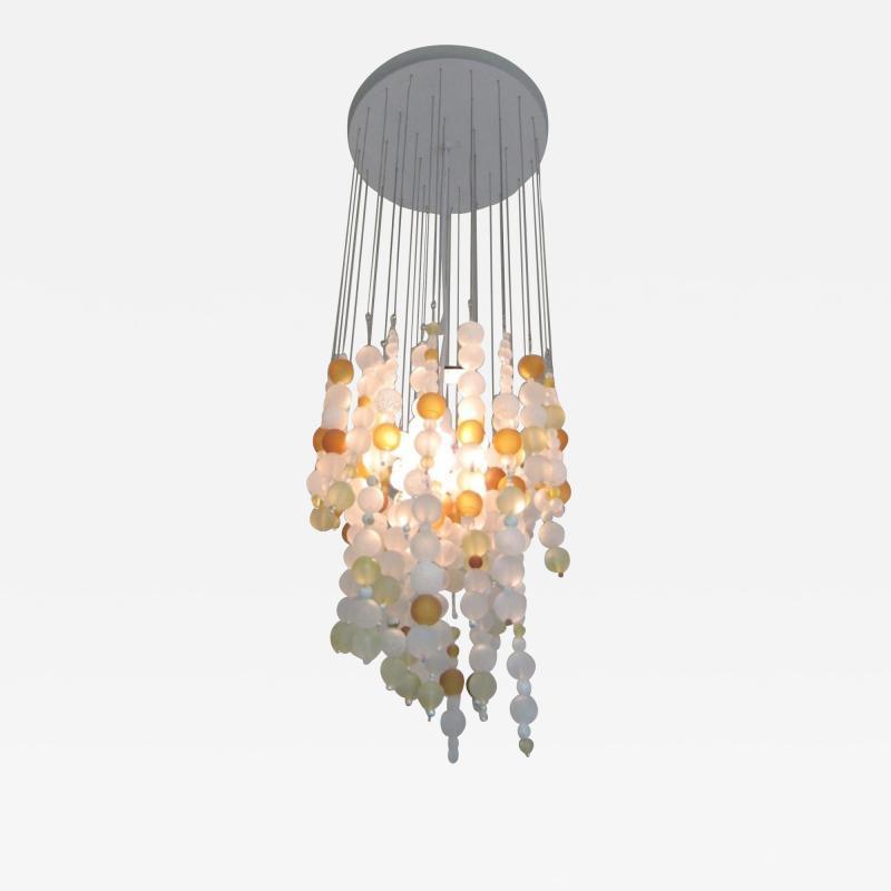 ADG Lighting Contemporary Spago Ball Chandelier