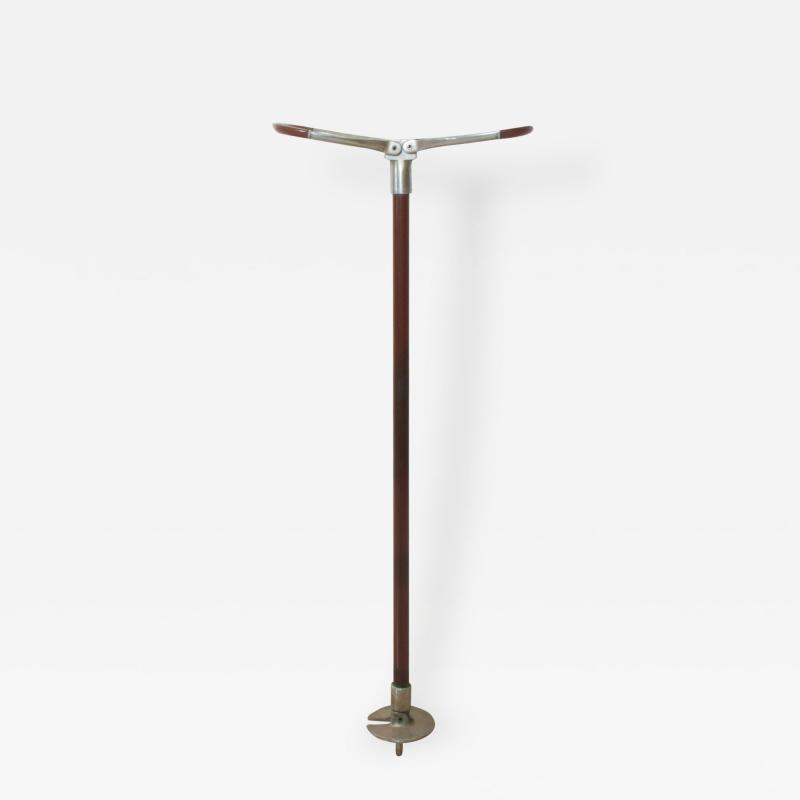 Abercrombie Fitch Vintage Walking Cane with Fold Open Seat Long England 1960s Abercrombie Fitch