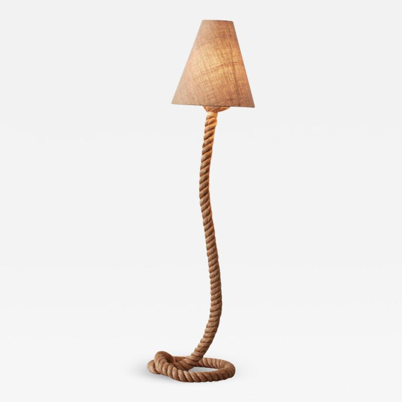 Adrien Audoux Frida Minet Audoux and Minet style floor lamp French 1970s