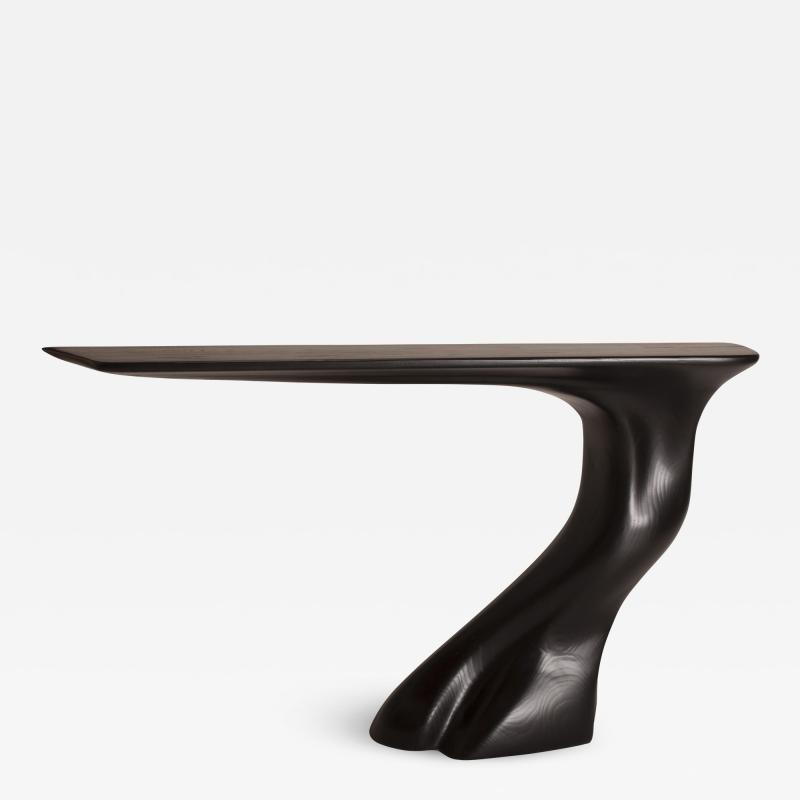 Amorph Amorph Frolic Console Table Wall Mount Ebony Stained