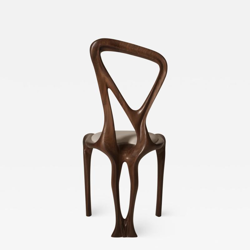 Amorph Amorph Gazelle Dining Chair in Walnut Wood and Natural Stain