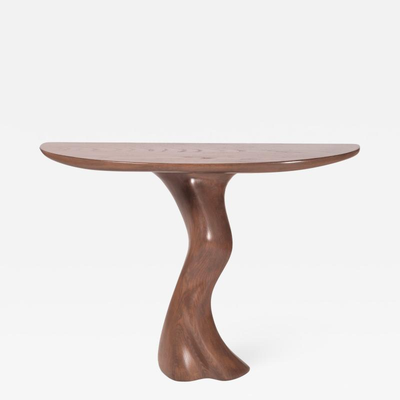 Amorph Amorph Haya Console Table Custom Stained Wall mounted Console