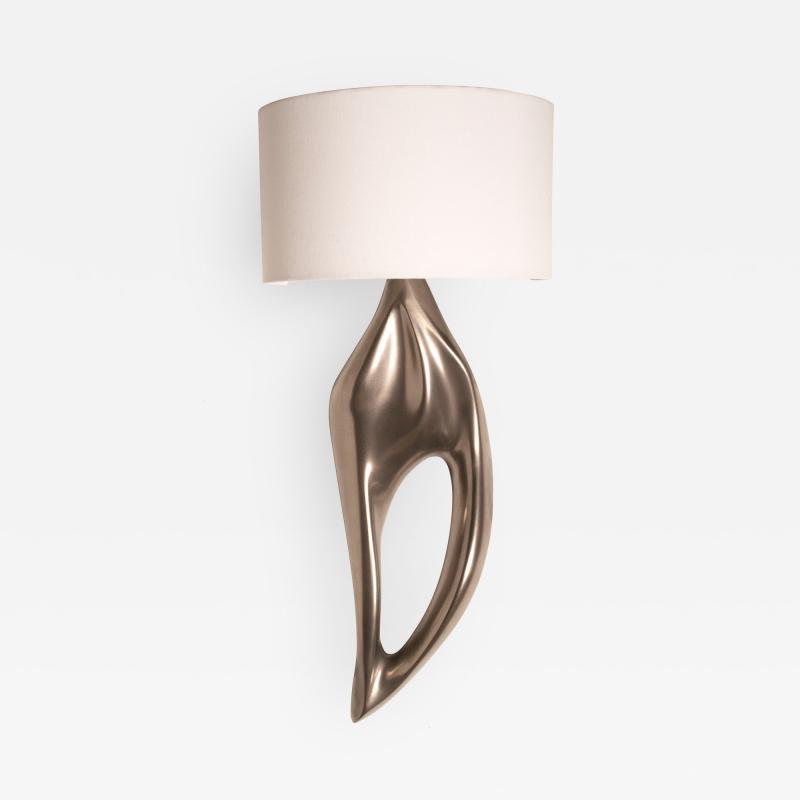 Amorph Amorph Lexi Sconces Wall Light With Ivory Silk Shade