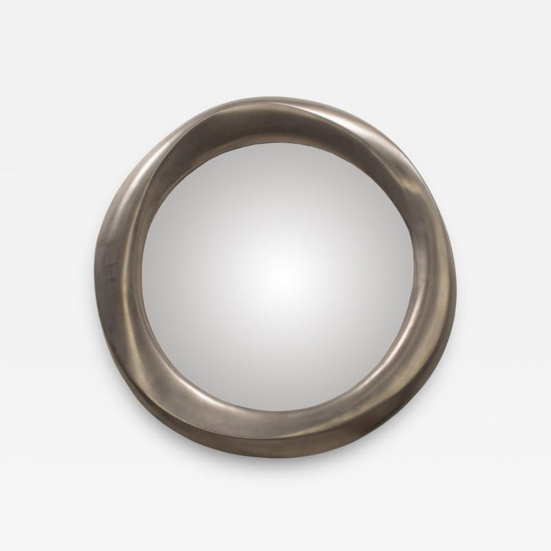 Amorph Chiara Wall Mounted Mirror Stainless Steel Finish