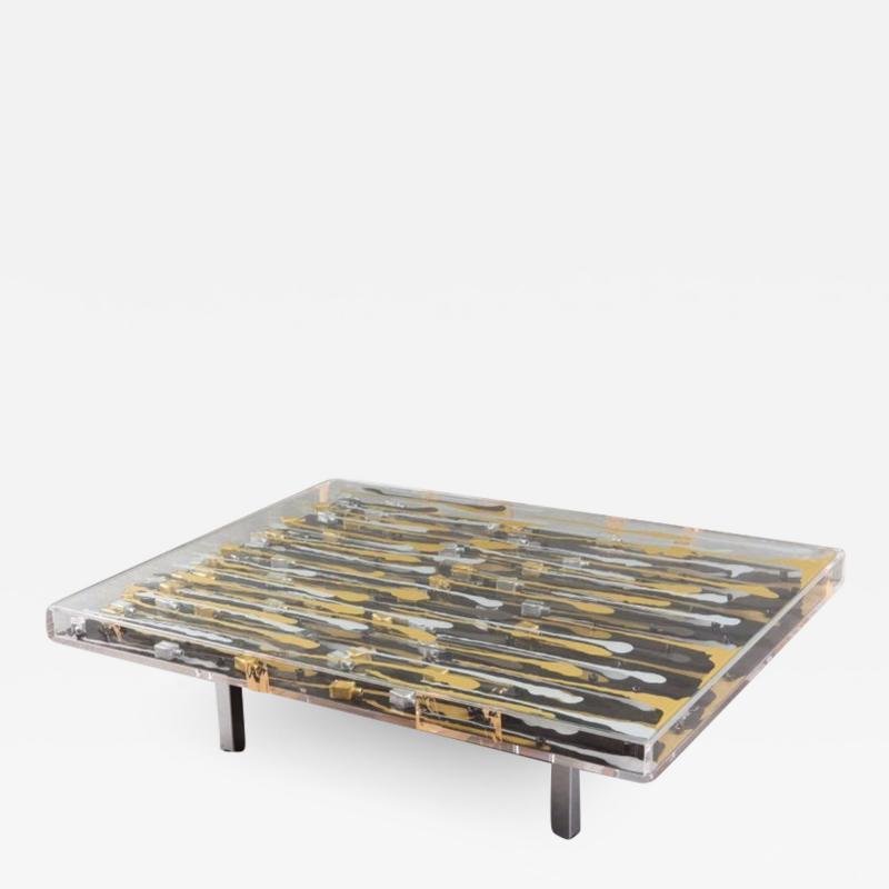 Arman Arman Keruan Original Table Signed and Numbered