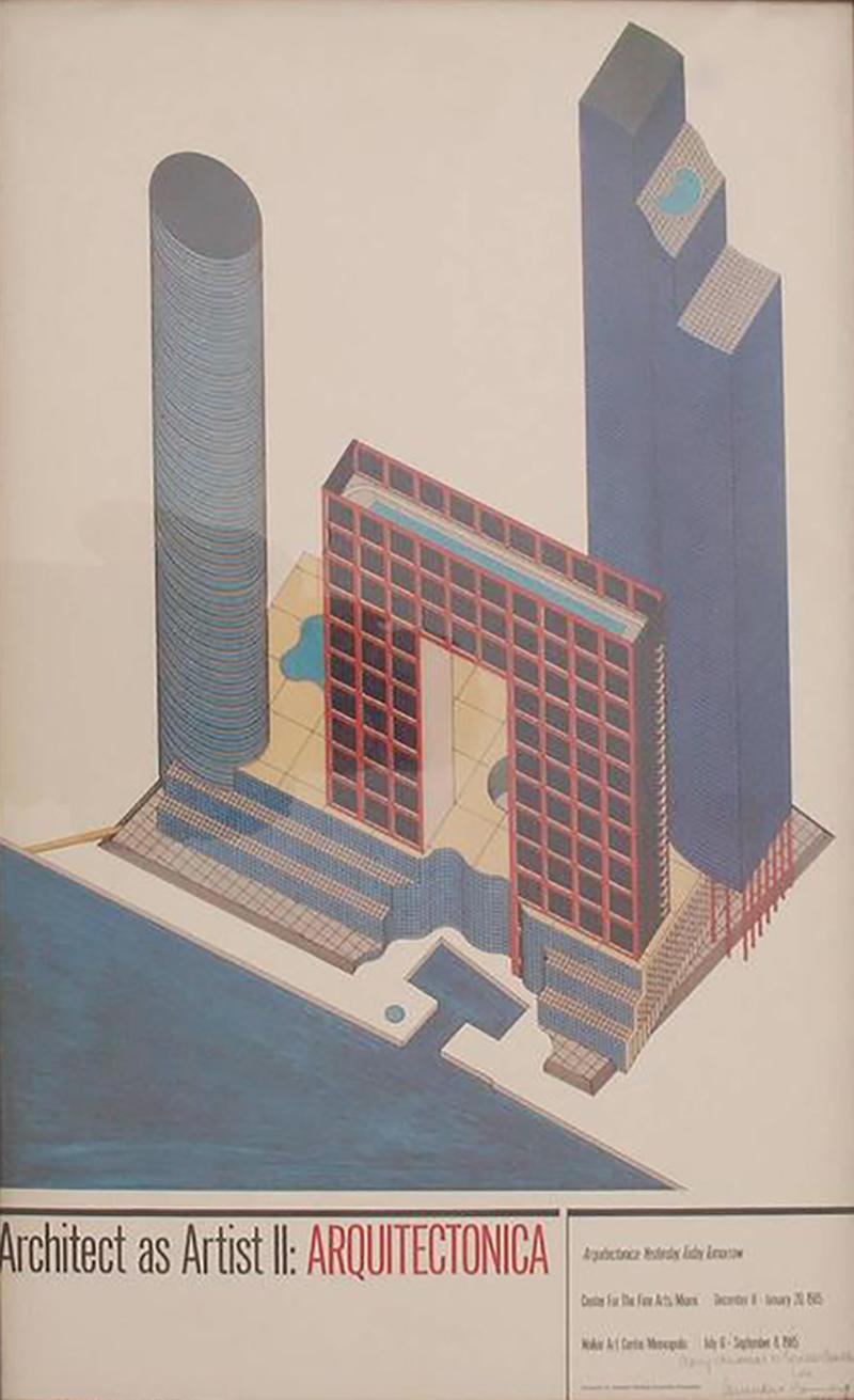 Arquitectonica Arquitectonica Poster 1984