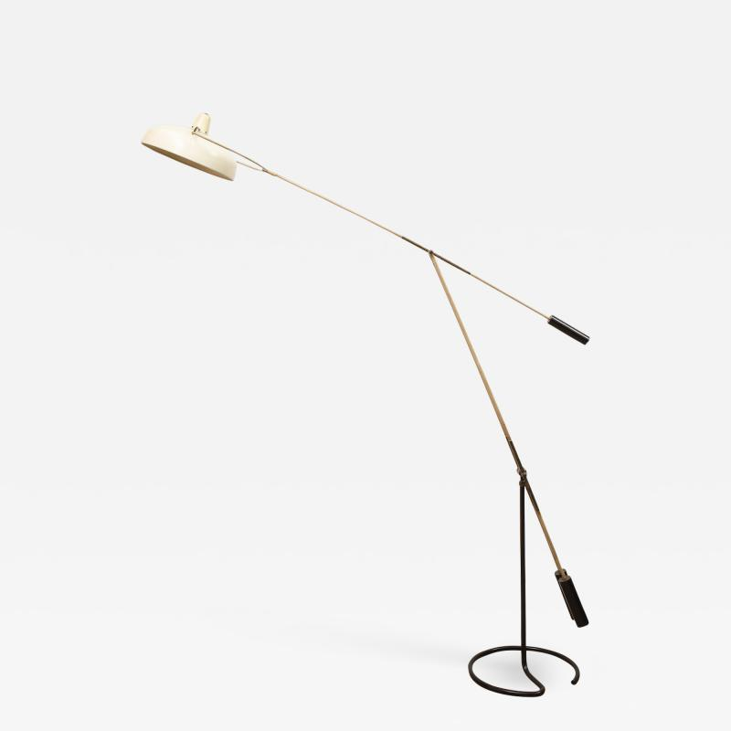 Arredoluce Rare Movalux Floor Lamp by Franco Govanni Legler for Arredoluce