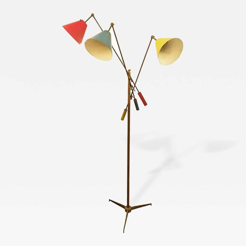 Arredoluce Triennale Floor Lamp by Arredoluce Marked 1947