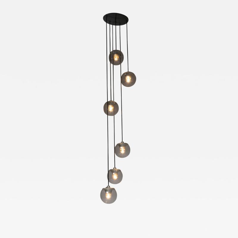 Arteluce Ceiling Lamp Mod 2095 6 by Sarfatti for Arteluce