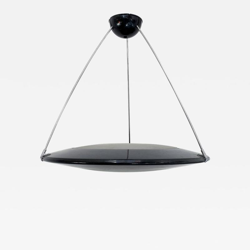 Arteluce Metal chandelier mod Mira C by Ezio Didone for Arteluce 1980s