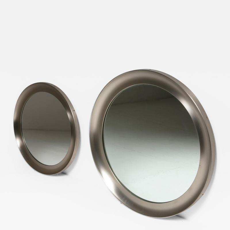 Artemide Pair of Narcisso Wall Mirrors by Sergio Mazza for Artemide