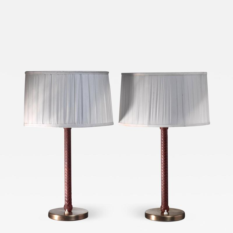 Asea ASEA pair of model E1251 table lamps