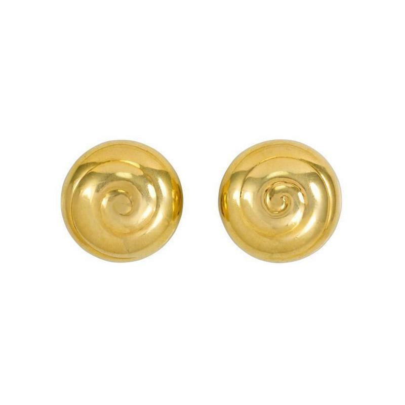 Asprey International Limited Estate Gold Earrings Asprey