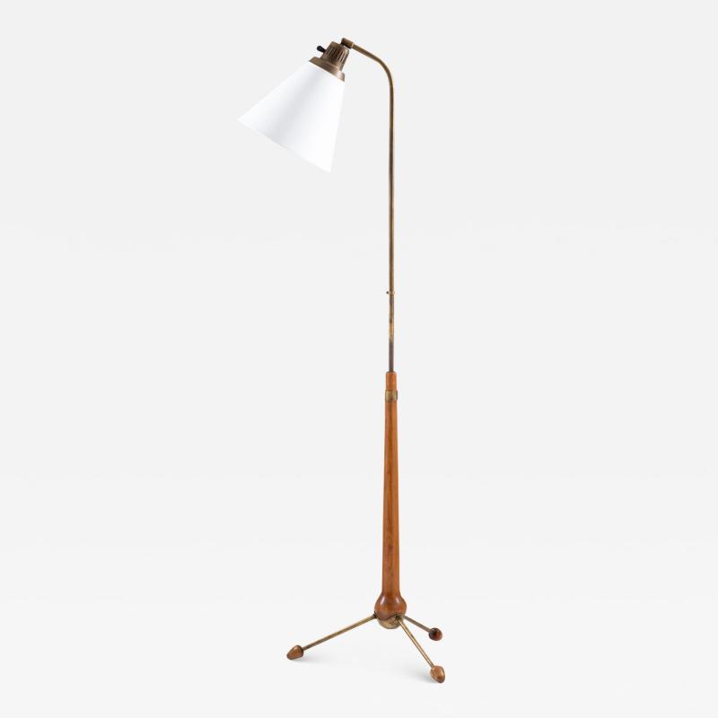 Atelje Lyktan Midcentury Floor Lamp by Hans Bergstr m for Atelj Lyktan 1940s Sweden