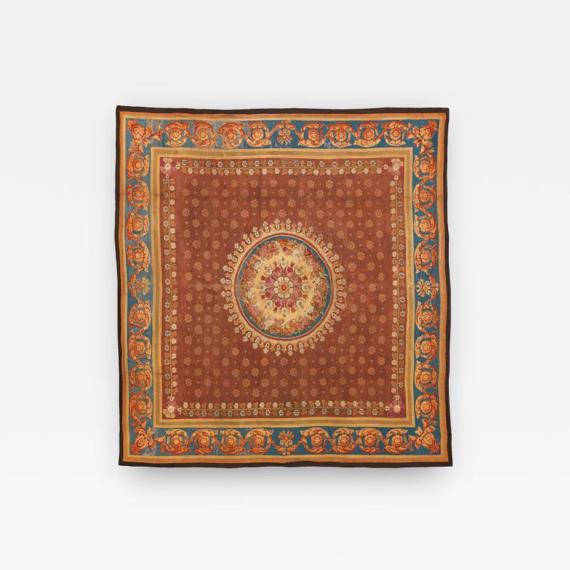 Aubusson Palatial Early 19th Century French Neoclassical Charles X Aubusson Rug c 1830