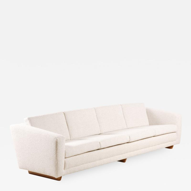 B rge Mogensen Borge Mogensen B rge Mogensen Four Seat Sofa for Fredericia Stolefabrik 1958