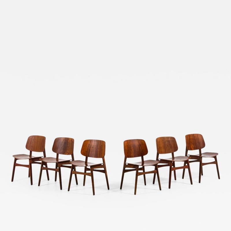 B rge Mogensen Borge Mogensen Dining Chairs Model 122 Shell Chair Produced by S borg M bler