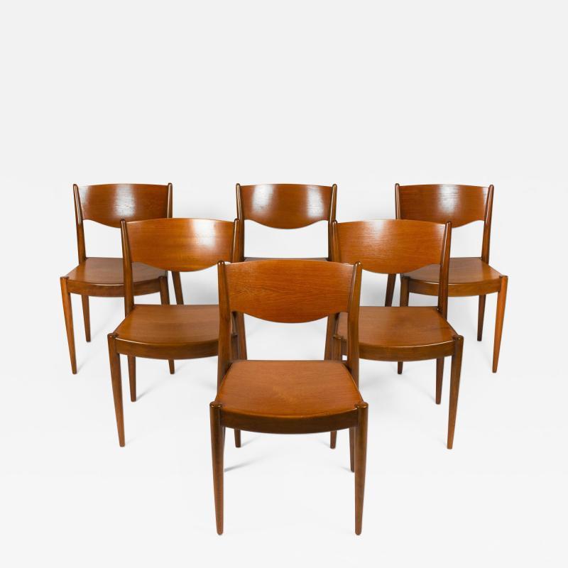 B rge Mogensen Borge Mogensen Set of Ten Dining Chairs for by Borge Mogensen for C M Madsens