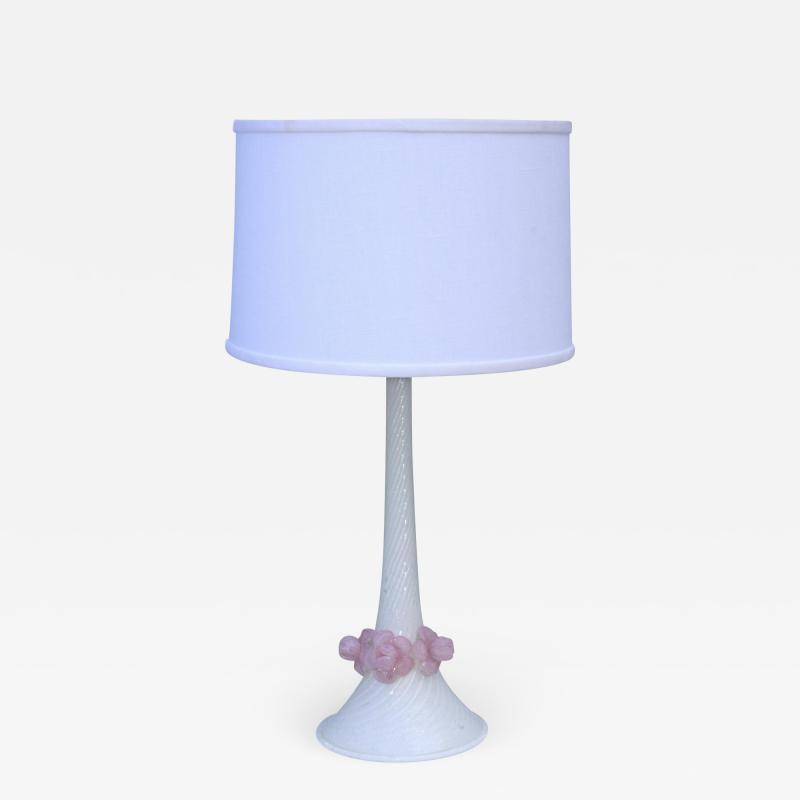 Barovier Toso 1950s Venetian Glass Table Lamp