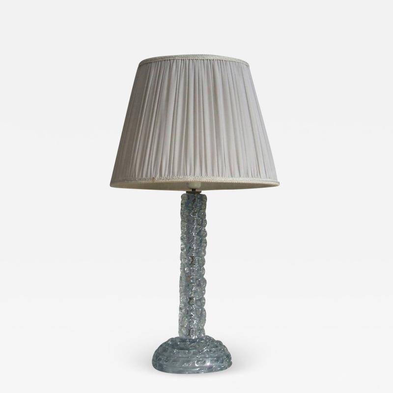 Barovier Toso Chic table lamp attributed to Barovier