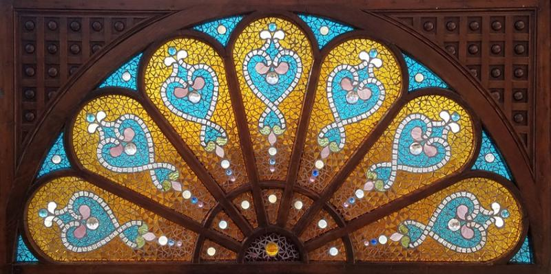 Belcher Mosaic Glass Company Offered by ANTIQUE AMERICAN STAINED GLASS WINDOWS