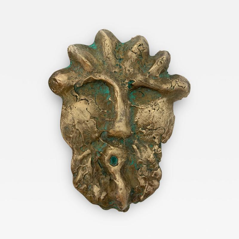 Bella Hunt DDC TETE ROMANE Bronze wall sculpture