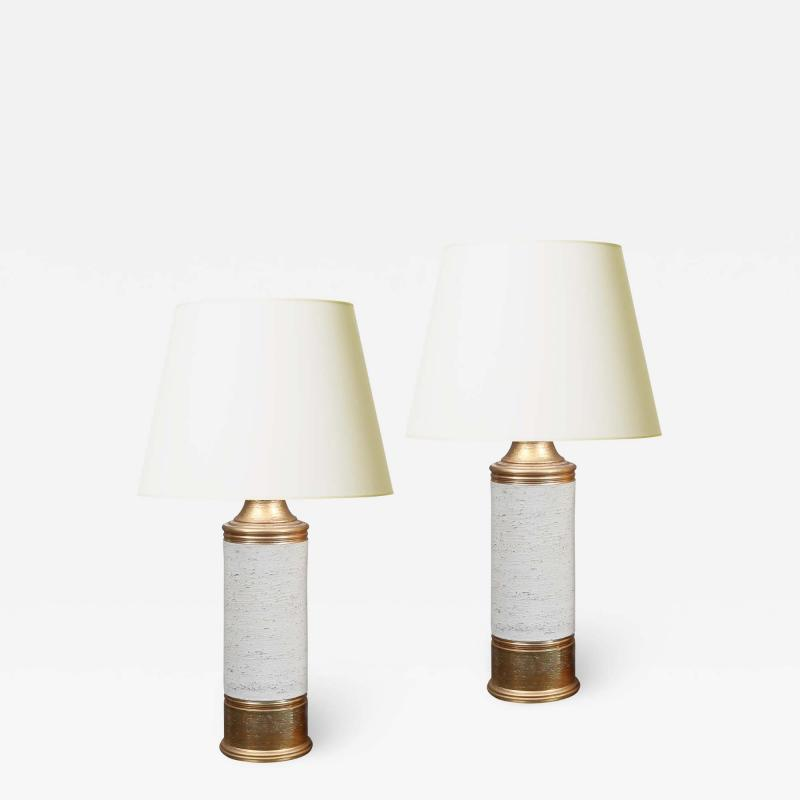 Bergboms Pair of Table Lamps by Bergboms