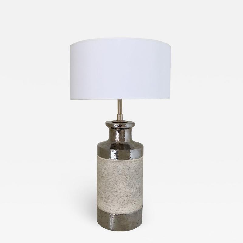 Bitossi BITOSSI FOR RAYMOR STONEWARE CERAMIC LAMP
