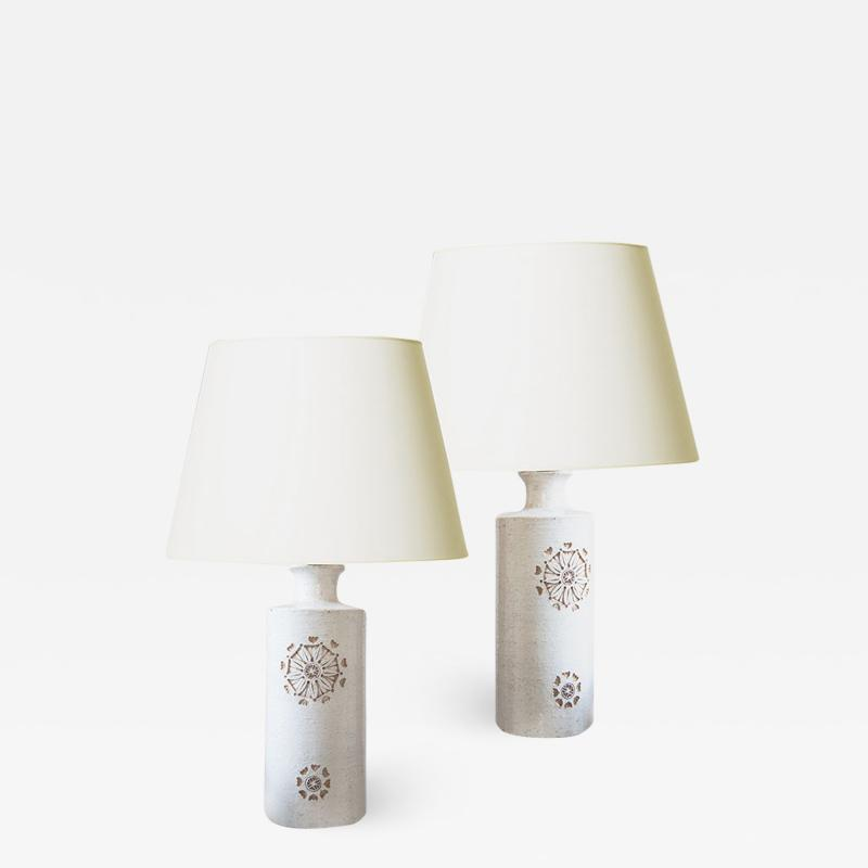 Bitossi Pair of Table Lamps by Bitossi for Bergboms