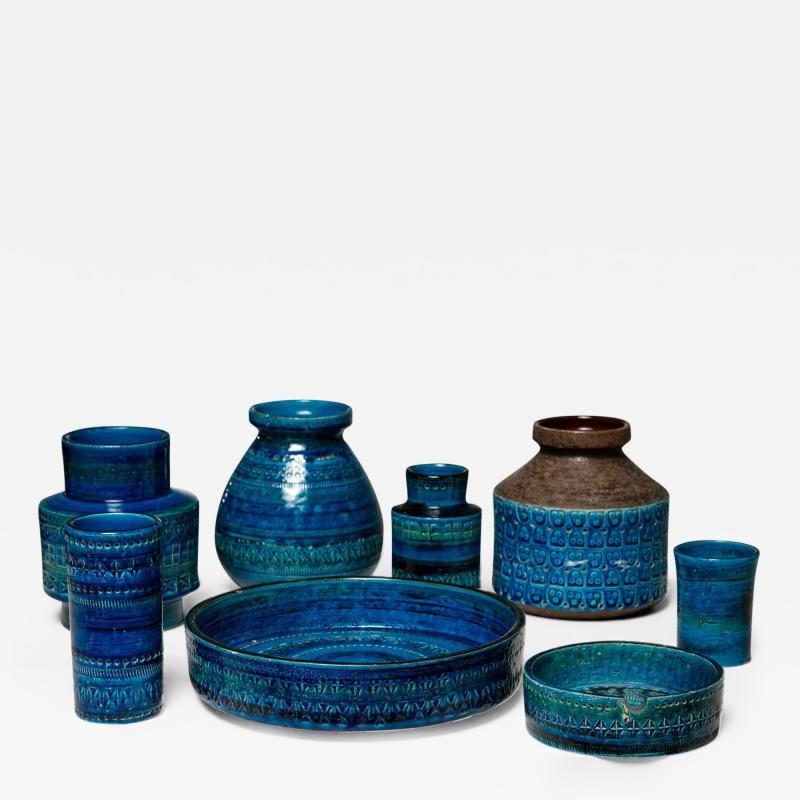 Bitossi Set of 8 Vases by Bitossi