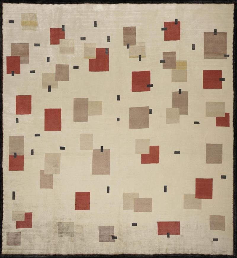 Boccara Boccara Hand Knotted Limited Edition Artistic Rug Design N 11 100 Natural Sil
