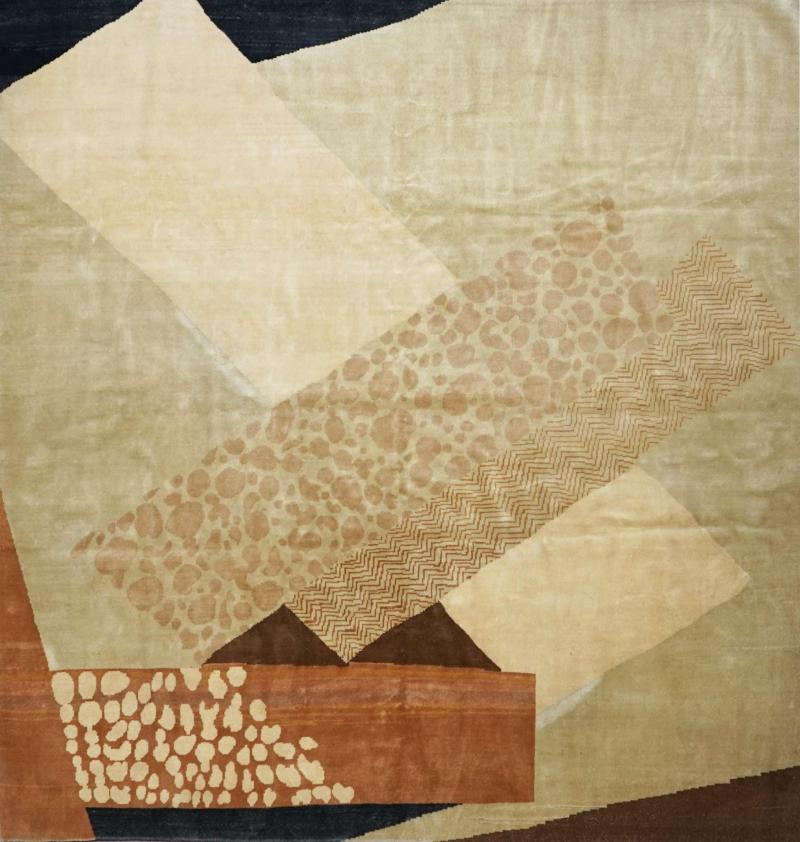 Boccara Boccara Hand Knotted Limited Edition Artistic Rug Design N 15
