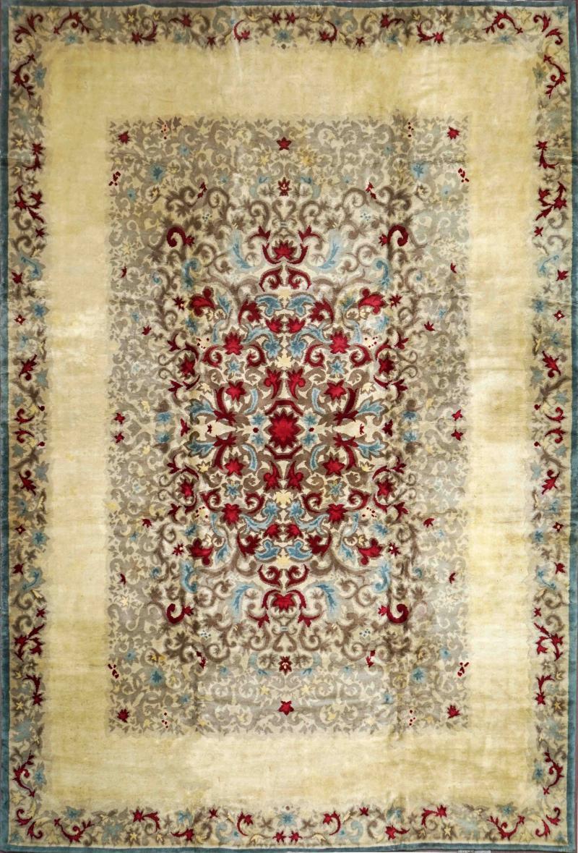 Boccara Original Art Deco Wool Rug Designed by Paule Leleu circa 1940s