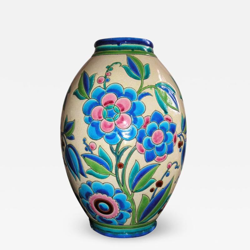 Boch Fr res Keramis Co Keramis Boch Ceramic Vase