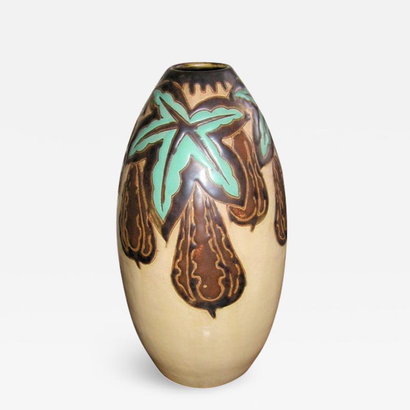 Boch Fr res Keramis Co Keramis Stoneware Vase