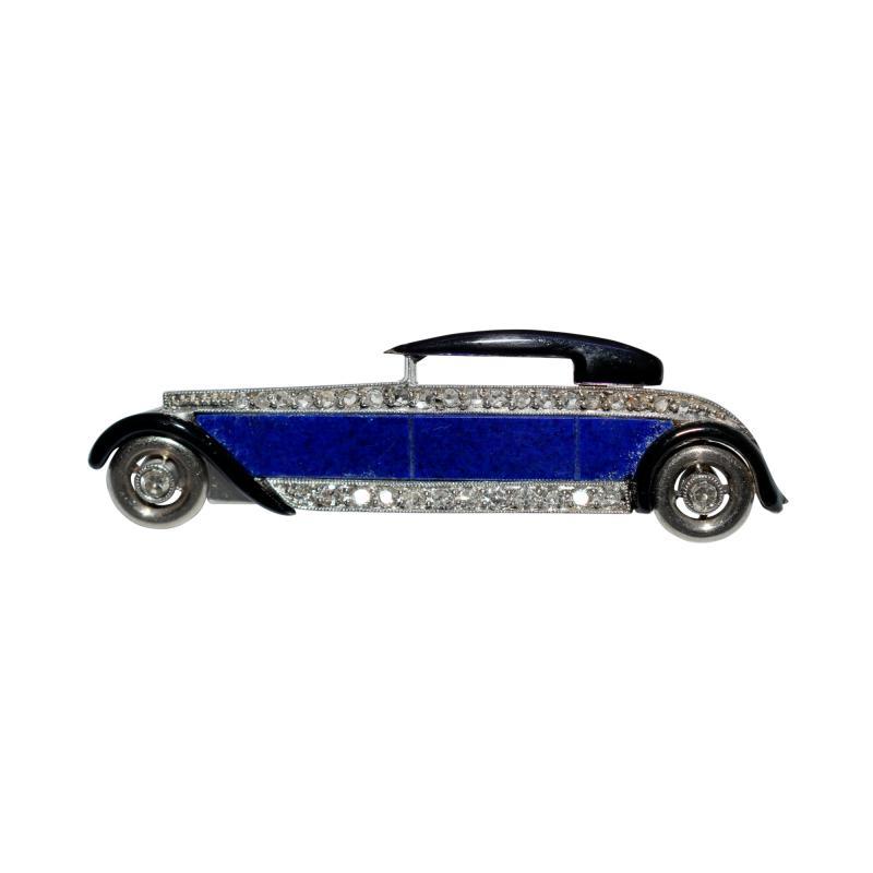 Boucheron Art Deco Luxury Automobile Brooch