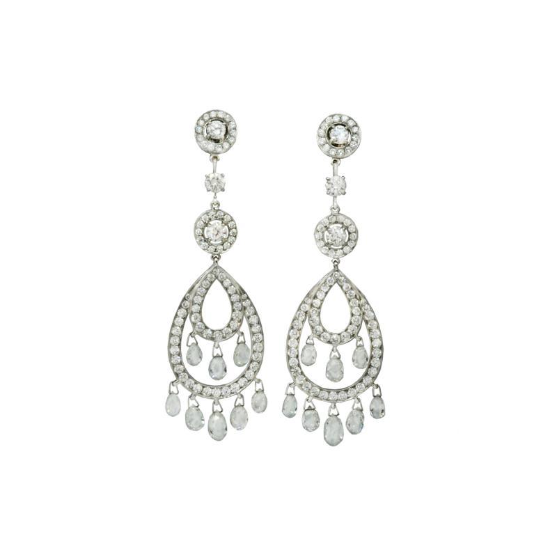 Boucheron Boucheron Paris Cinna Pampilles drop earrings