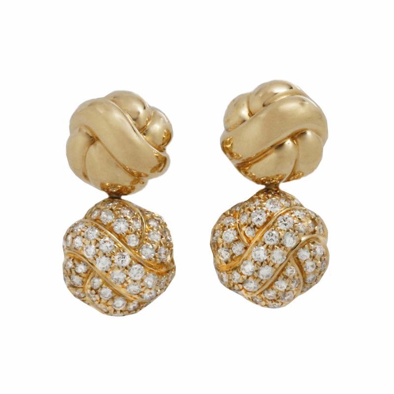 Boucheron Boucheron Paris Diamond Drop Earings
