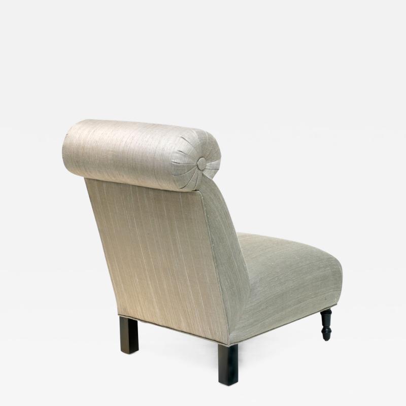 Bourgeois Boheme Atelier La Somme Slipper Chair by Bourgeois Boheme Atelier