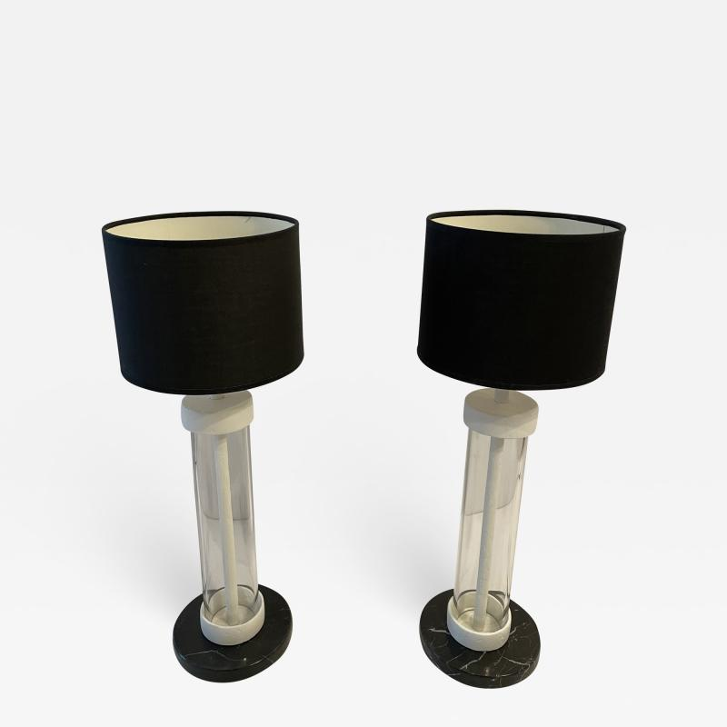 Bourgeois Boheme Atelier Pair of Table Lamps by Bourgeois Boheme Atelier