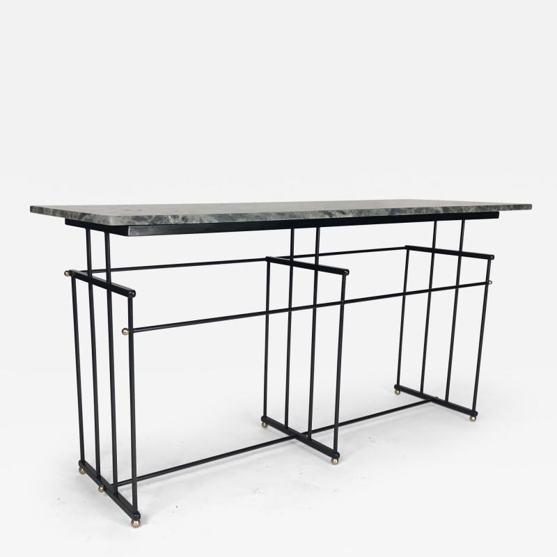 Bourgeois Boheme Atelier Plaissance Table Crystalized Marble Top