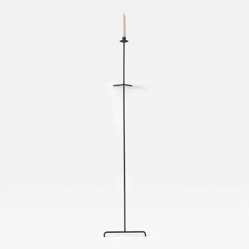 Bourgeois Boheme Atelier Single Font Albe Candle Wall Candle Stick Oxidized