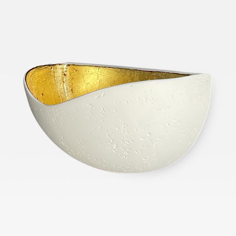 Bourgeois Boheme Atelier St Germain Sconce Gold Leaf Interior